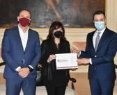 Consegna della ricerca sull'impatto del Covid al Comune di Venezia